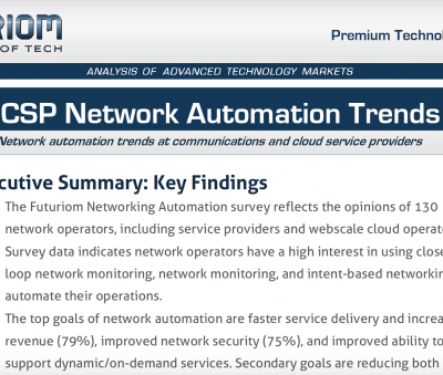 Csp Network Automation Report Cover